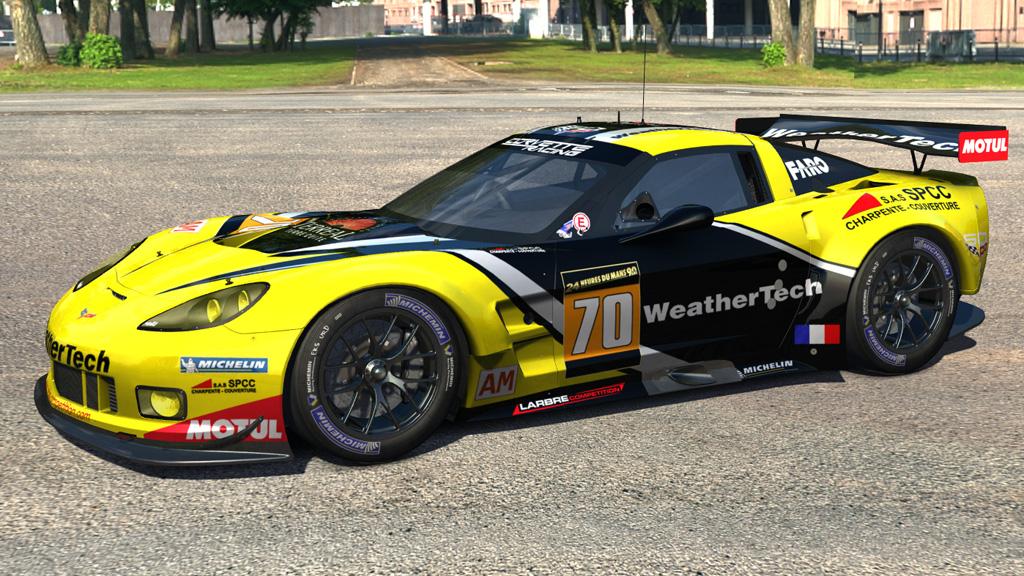 Assetto Corsa URD Corvette C6R v1.2.1 - Pitlanes Sim Racing