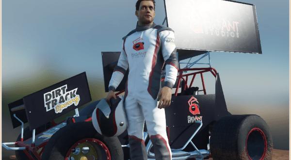 Dirt Track Racing Kickstarter from Big Ant Studios