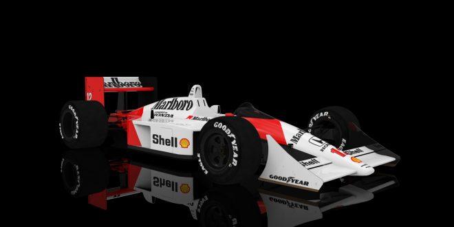 McLaren-Honda MP4/4 1.0 Reases on Assetto Corsa