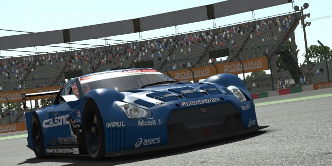 Nissan GT500 on rFactor 2