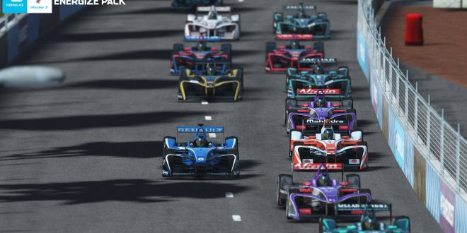 Formula E Energize Pack released on rFactor 2